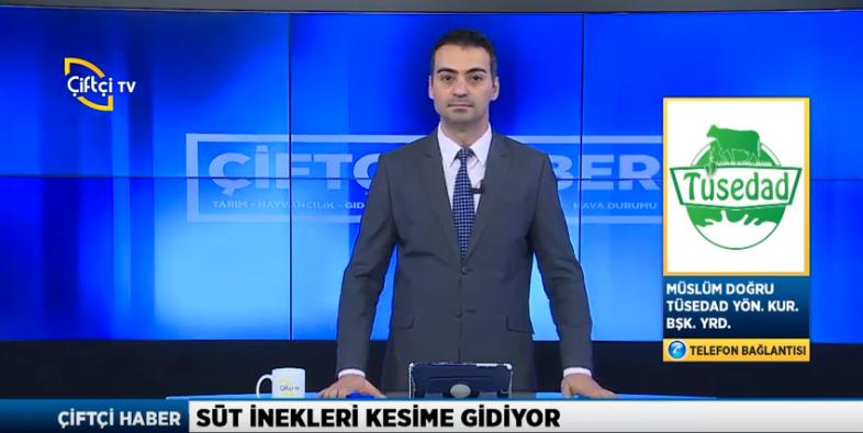 Yönetim Kurulu Üyemiz Sn. Müslüm Doğru bu sabah Çiftçi TV Kanalında.