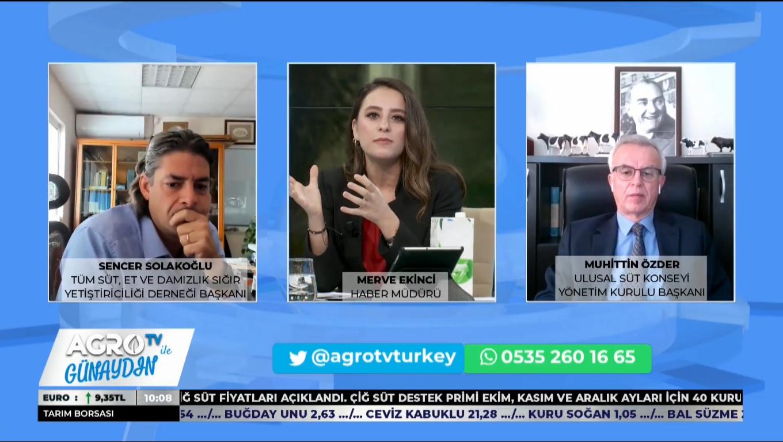 TÜSEDAD BAŞKANI SENCER SOLAKOĞLU / AGRO TV İLE GÜNAYDIN 12 EKİM 2020