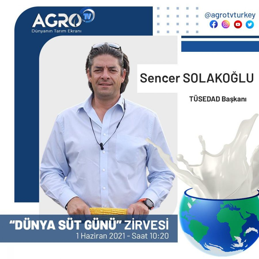 TÜSEDAD BAŞKANI SENCER SOLAKOĞLU – SÜT ÜRETİCİSİ NEDEN MUTSUZ!! / AGRO TV İLE GÜNAYDIN 01.06.2021